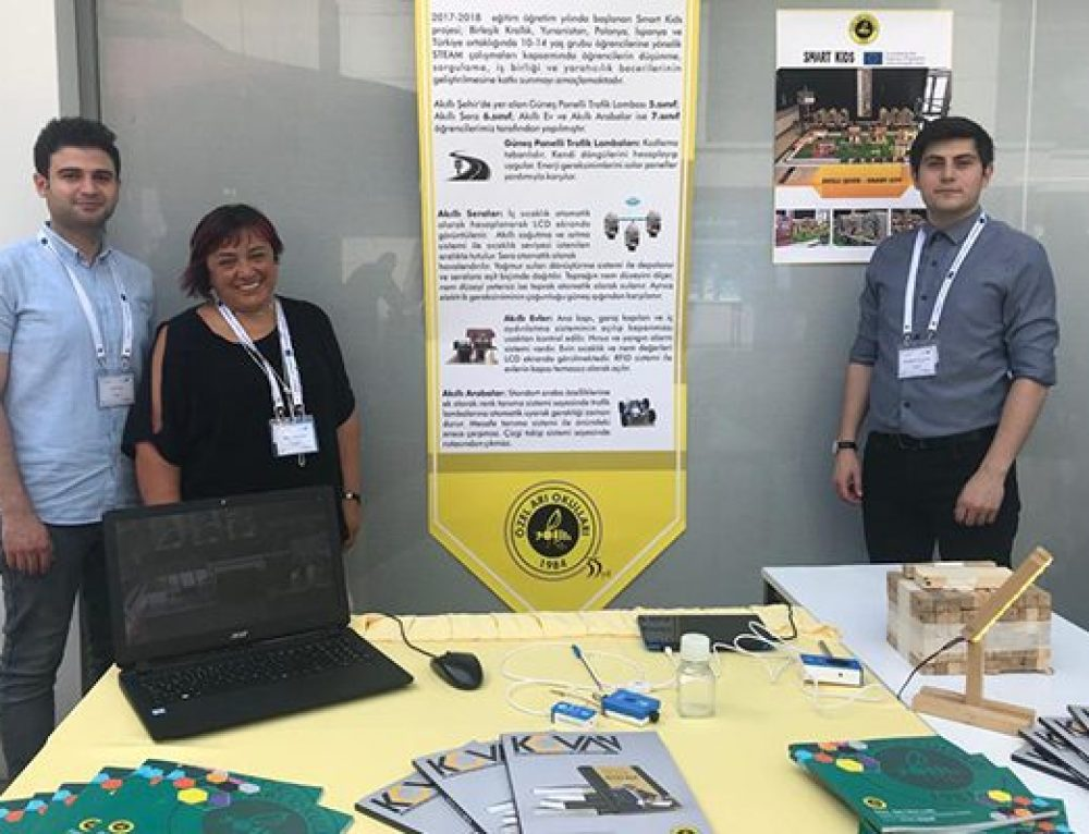 We attended the International STEM Teachers' Conference